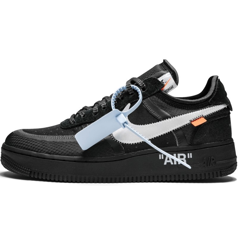 Off-White Air Force 1 Low Black-AO4606-001-Limited Resell