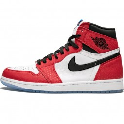 Air Jordan 1 Retro High OG Spiderman--555088-602-Limited Resell