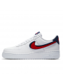 Air Force 1 Low 3D Chenille Swoosh White Red Blue--Limited Resell