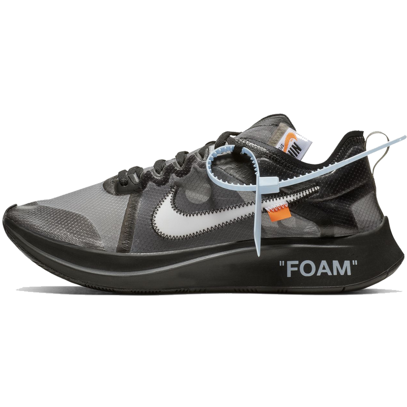 Off-White Zoom Fly Black--Limited Resell