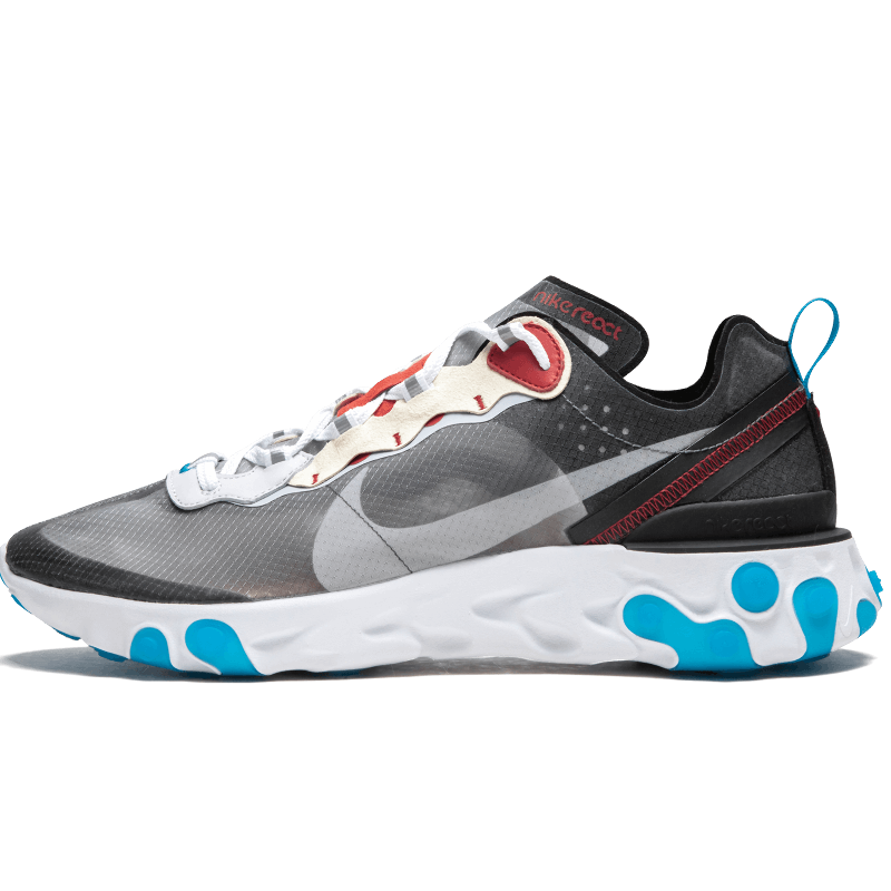 React Element 87 Dark Grey Photo Blue--Limited Resell