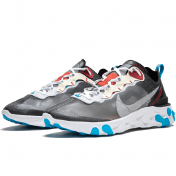 React Element 87 Dark Grey Photo Blue
