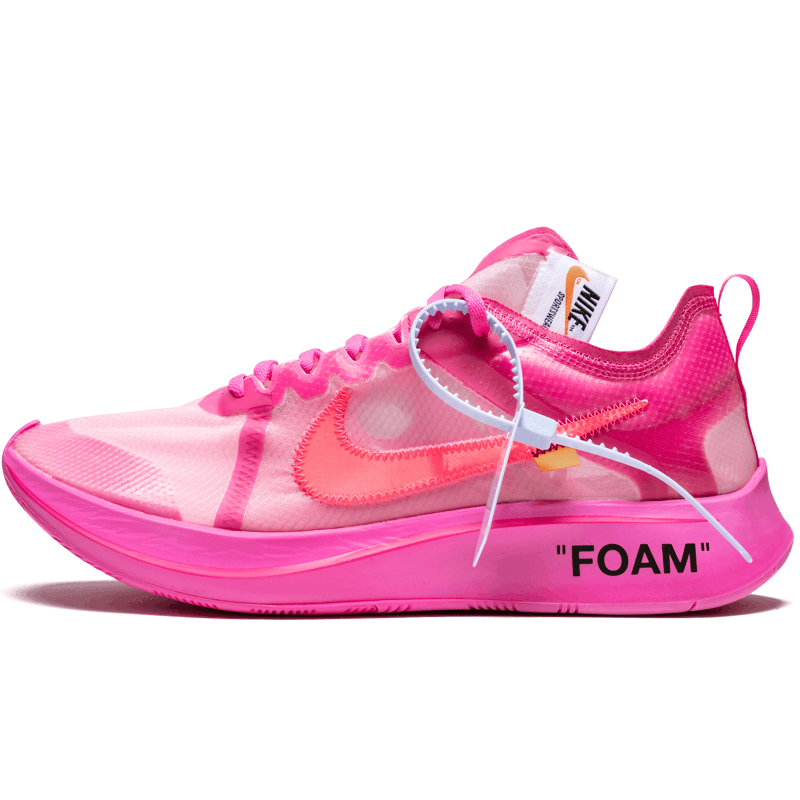 Off-White Zoom Fly Pink-AJ4588-600-Limited Resell