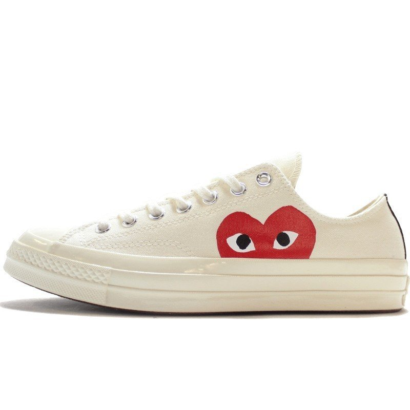 Converse Comme des Garçons Play Blanche Basse-150207C-Limited Resell