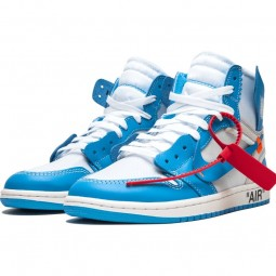 Off-White Jordan 1 University Blue--AQ0818-148-Limited Resell