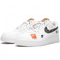 Air Force 1 Just Do It Total White