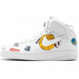 Air Force 1 NBA Supreme White