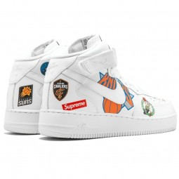 Air Force 1 NBA Supreme White--Limited Resell