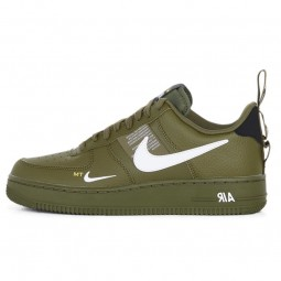 Nike Air Force 1 07 LV8 Utility Olive Canvas--AJ7747-300-Limited Resell