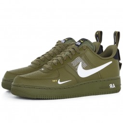 Nike Air Force 1 07 LV8 Utility Olive Canvas