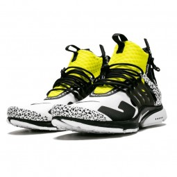 Air Presto Mid Acronym Yellow