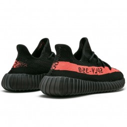 Yeezy Boost 350 V2 Black Red--Limited Resell