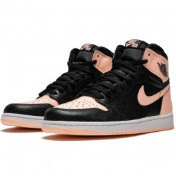 Air Jordan 1 Retro High Black Crimson Tint--555088-081-Limited Resell