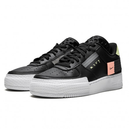 Air Force 1 Low Drop Type Black--CI0054-001-Limited Resell