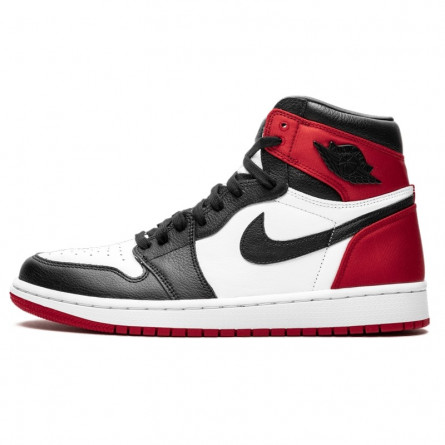Air Jordan 1 Retro High Satin Black Toe