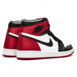 Air Jordan 1 Retro High Satin Black Toe--Limited Resell