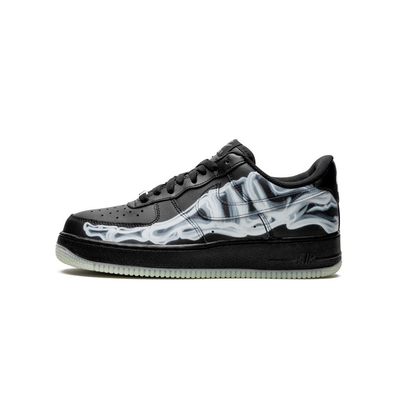 Air Force 1 Low Black Skeleton Halloween 2019--Limited Resell