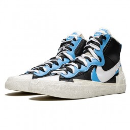 Nike Sacai Blazer High White Black Legend Blue--Limited Resell