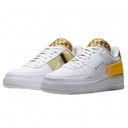 Air Force 1 Drop Type White Gold Yellow--Limited Resell