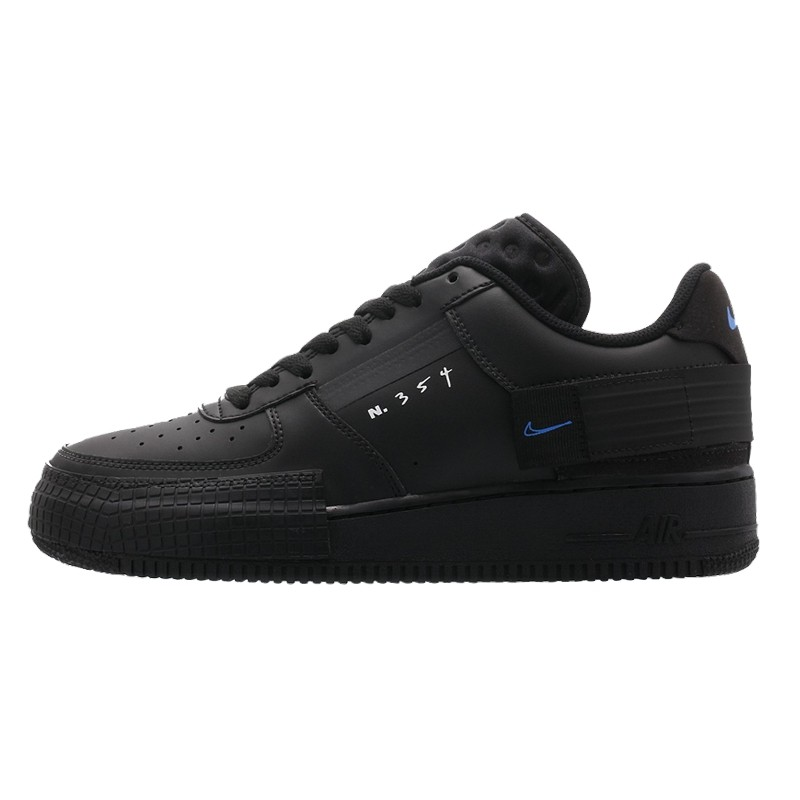 Air Force 1 Drop Type Triple Black-AT7859-001-Limited Resell