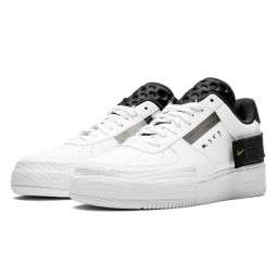 Air Force 1 Drop Type White Black Volt-AT7859-101-Limited Resell