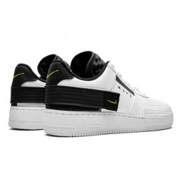 Air Force 1 Drop Type White Black Volt--AT7859-101-Limited Resell