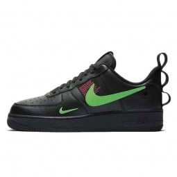 Air Force 1 LV8 Utility Black UL Hyper Pink Scream Green--CQ4611-001-Limited Resell