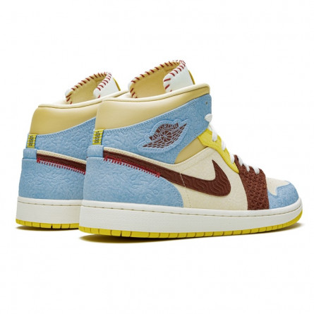 air jordan 1 jaune marron