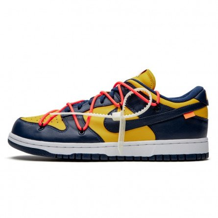 Off-White Dunk Low Michigan-CT0856-700-Limited Resell