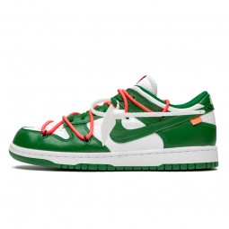 Off-White Dunk Low Pine Green