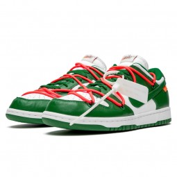 Off-White Dunk Low Pine Green-CT0856-100-Limited Resell