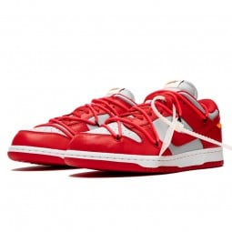 Off-White Dunk Low University Red--CT0856-600-Limited Resell