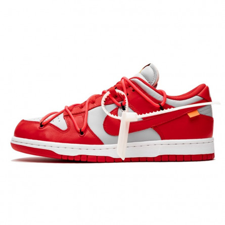 Off-White Dunk Low University Red-CT0856-600-Limited Resell