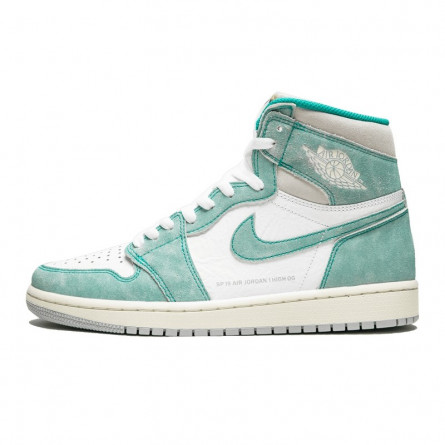Air Jordan 1 Retro High Turbo Green Flight Nostalgia