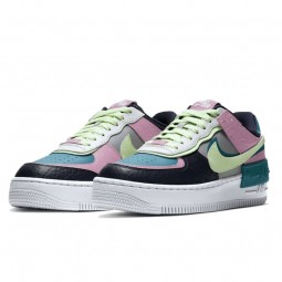 Air Force 1 Shadow Barely Volt Oracle Aqua--CK3172-001-Limited Resell