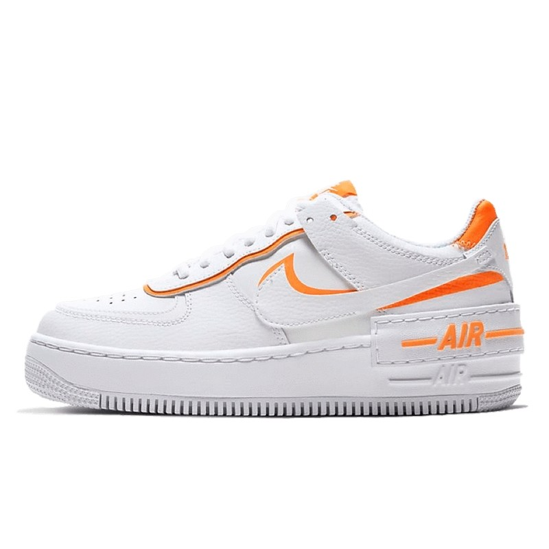 Air Force 1 Shadow Total Blanc Orange-CI0919-103-Limited Resell