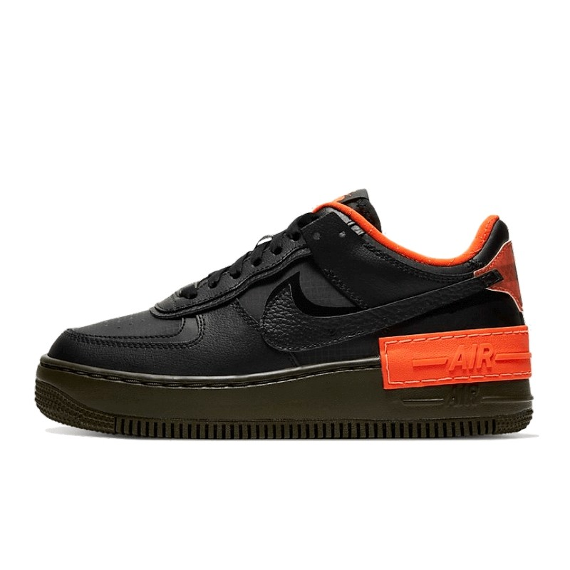 Air Force 1 Shadow Black Hyper Crimson--CQ3317-001-Limited Resell