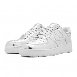 Air Force 1 Metallic Silver Chrome-CQ6566-001-Limited Resell