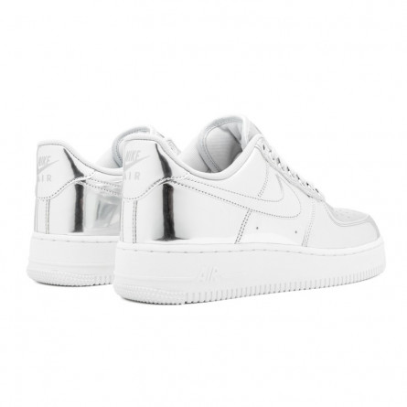 Air Force 1 Metallic Silver Chrome--CQ6566-001-Limited Resell
