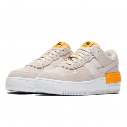 Air Force 1 Shadow Beige Orange-CU3446-001-Limited Resell