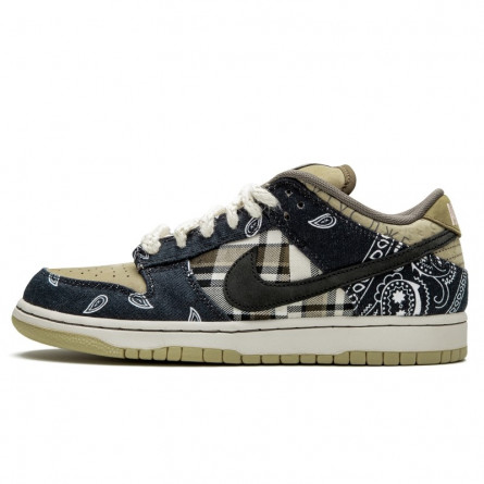 Nike SB Dunk Low  Travis Scott--CT5053-001-Limited Resell