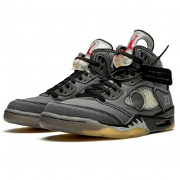 Off-White Air Jordan 5 Retro Black-CT8480-001-Limited Resell