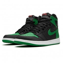 Air Jordan 1 Retro High OG Pine Green Black--555088-030-Limited Resell