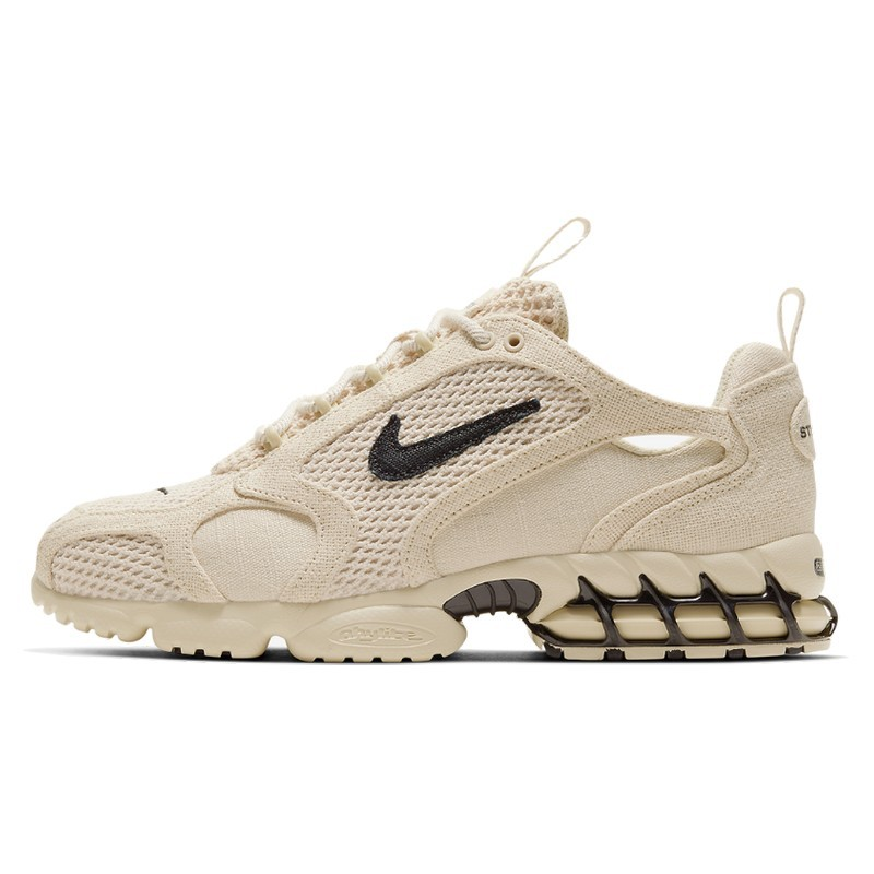 Air Zoom Spiridon Caged 2 Stussy Fossil-CQ5486-200-Limited Resell