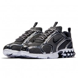 Air Zoom Spiridon Caged 2 Stussy Pure Platinium--CU1854-001-Limited Resell