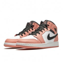 Air Jordan 1 Mid Pink Quartz-555112-603-Limited Resell