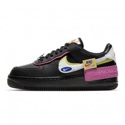 Air Force 1 Shadow Black Pink Limelight--CU4743-001-Limited Resell
