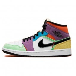 Air Jordan 1 Mid SE Multi-Color Lightbulb--CW1140-100-Limited Resell