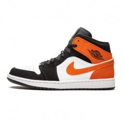 Air Jordan 1 Mid Shattered Backboard--554724-058-Limited Resell