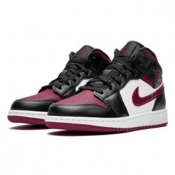 Air Jordan 1 Mid Bred Toe--554724-066-Limited Resell